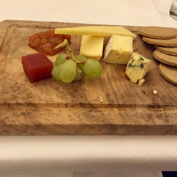 Lovely cheese selection