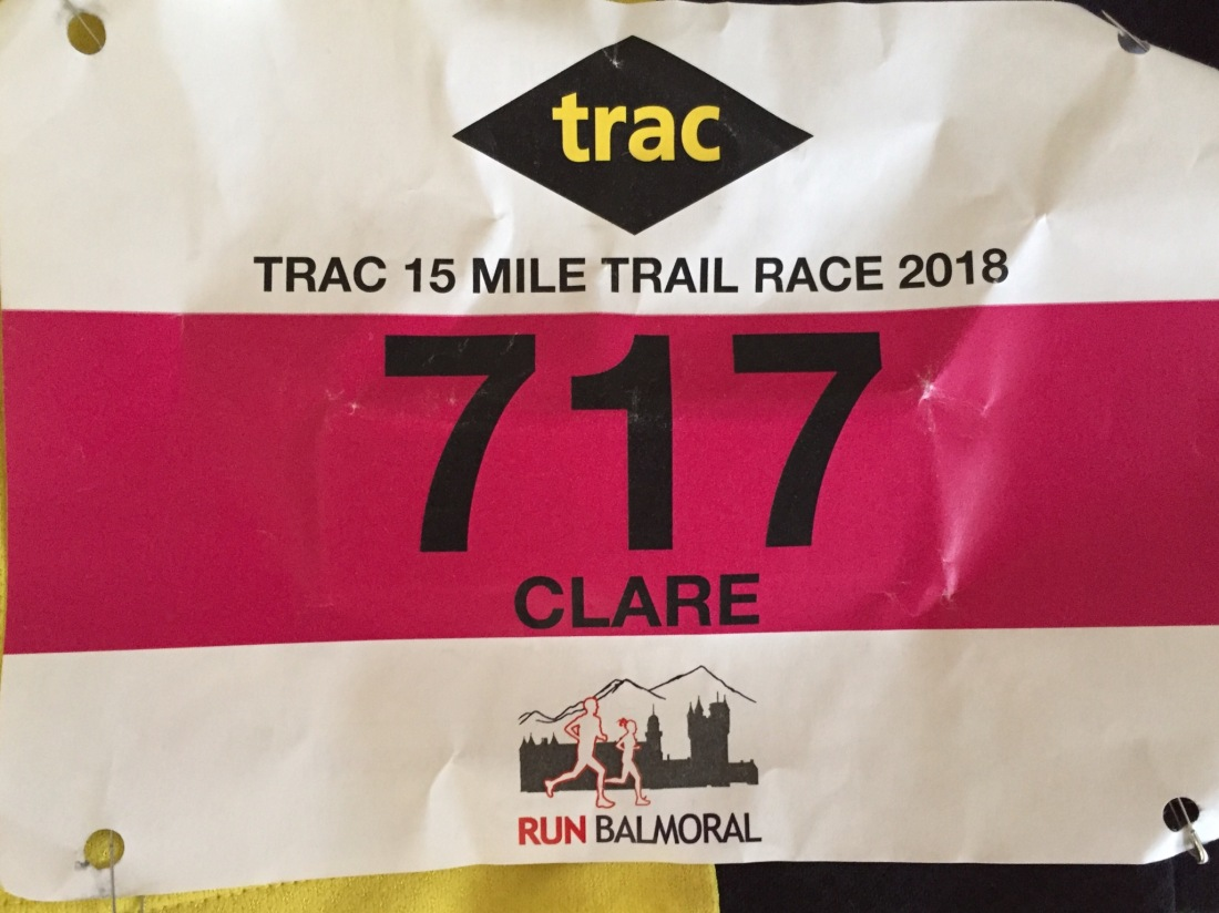 Trac 15 Mile Trail Race, Run Balmoral