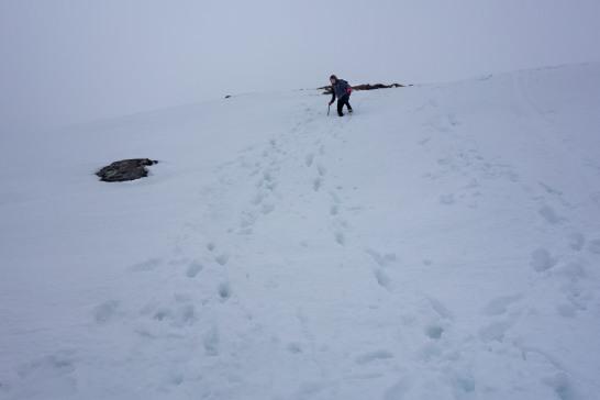Descent off Meall Ghaordaidh