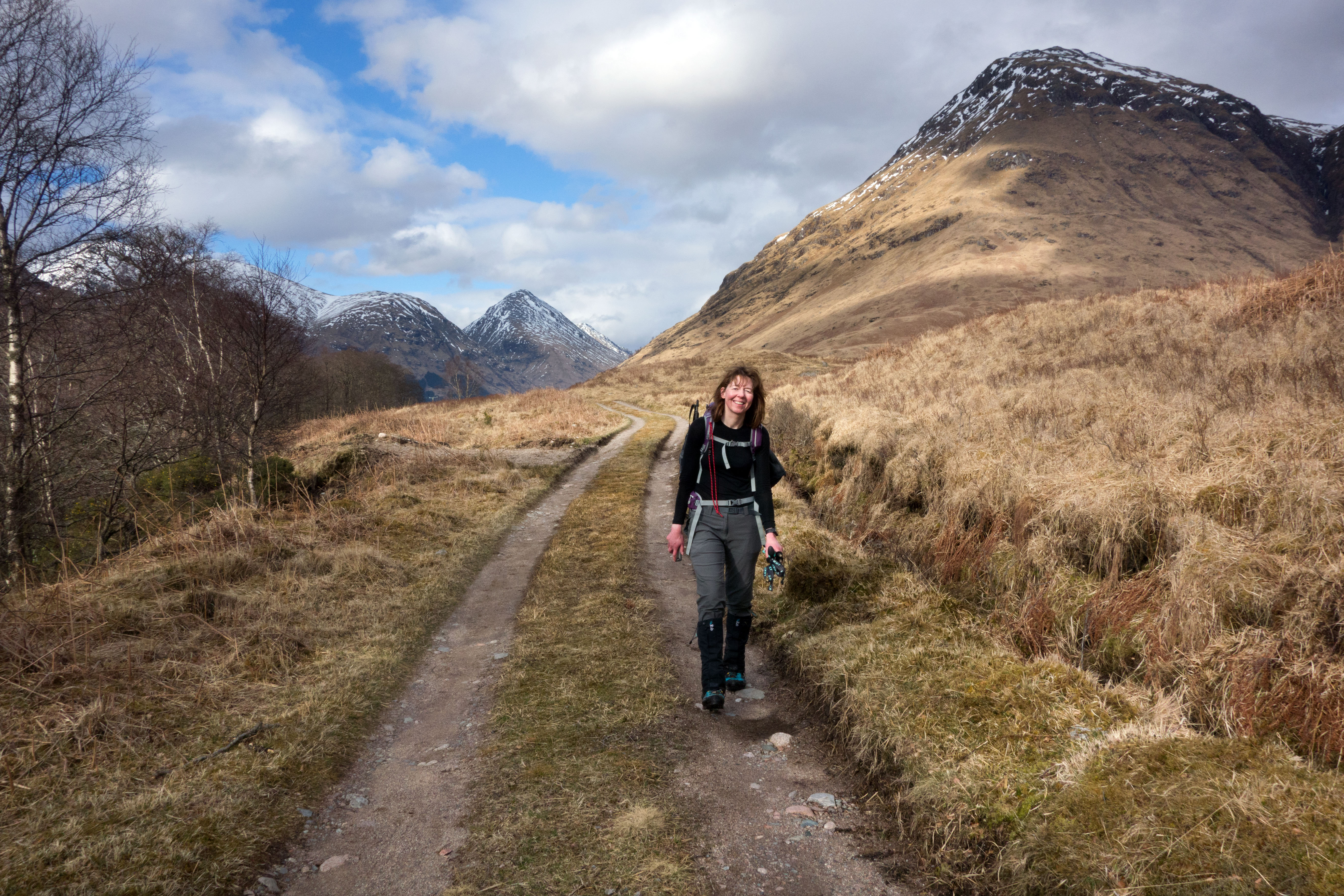 Off the hills - a totally different day to the summits!