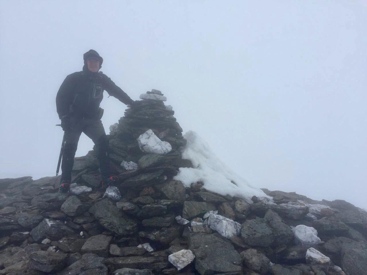 Summit of Beinn a'Chreachain