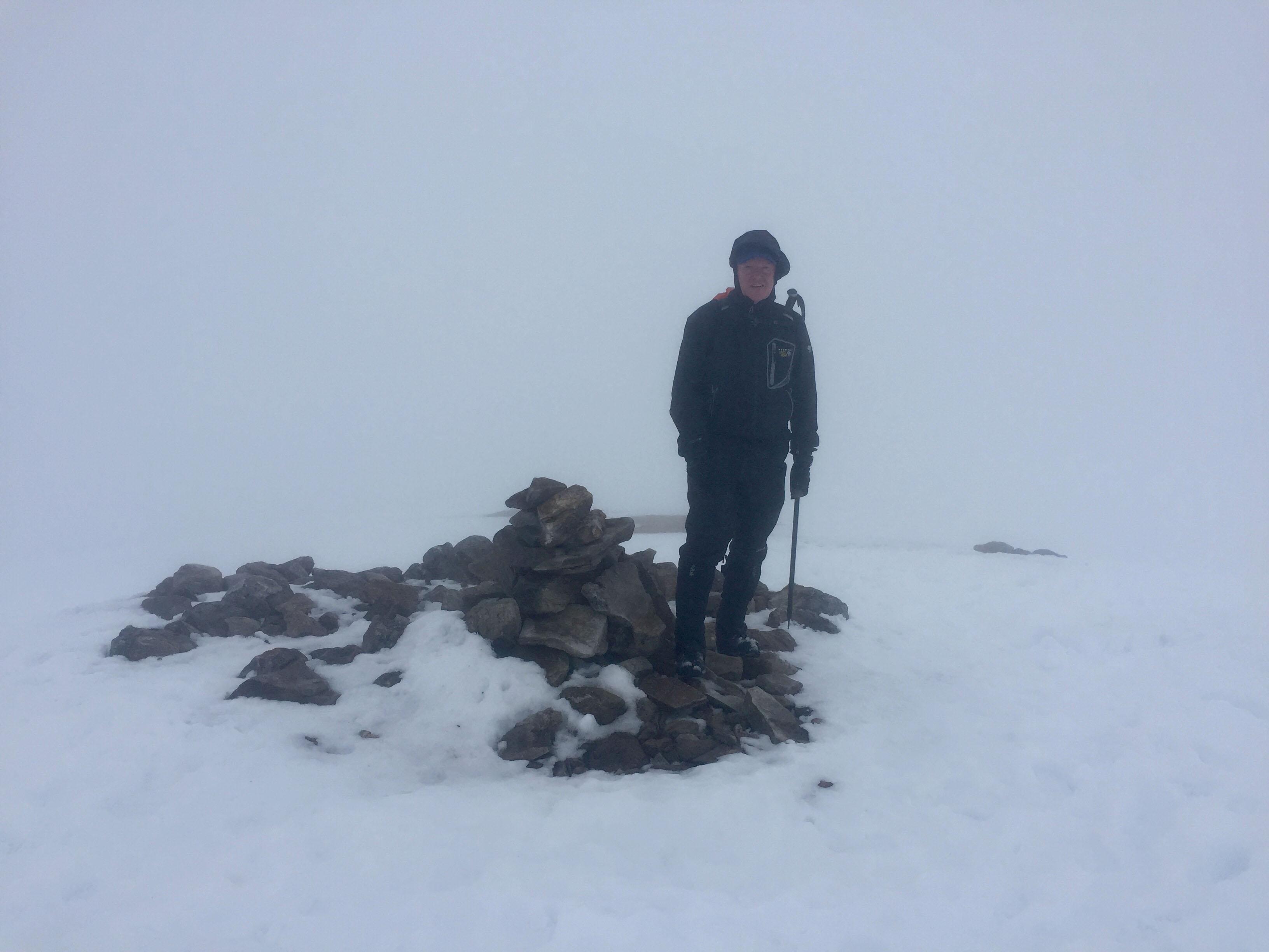 Summit of Ben Challum