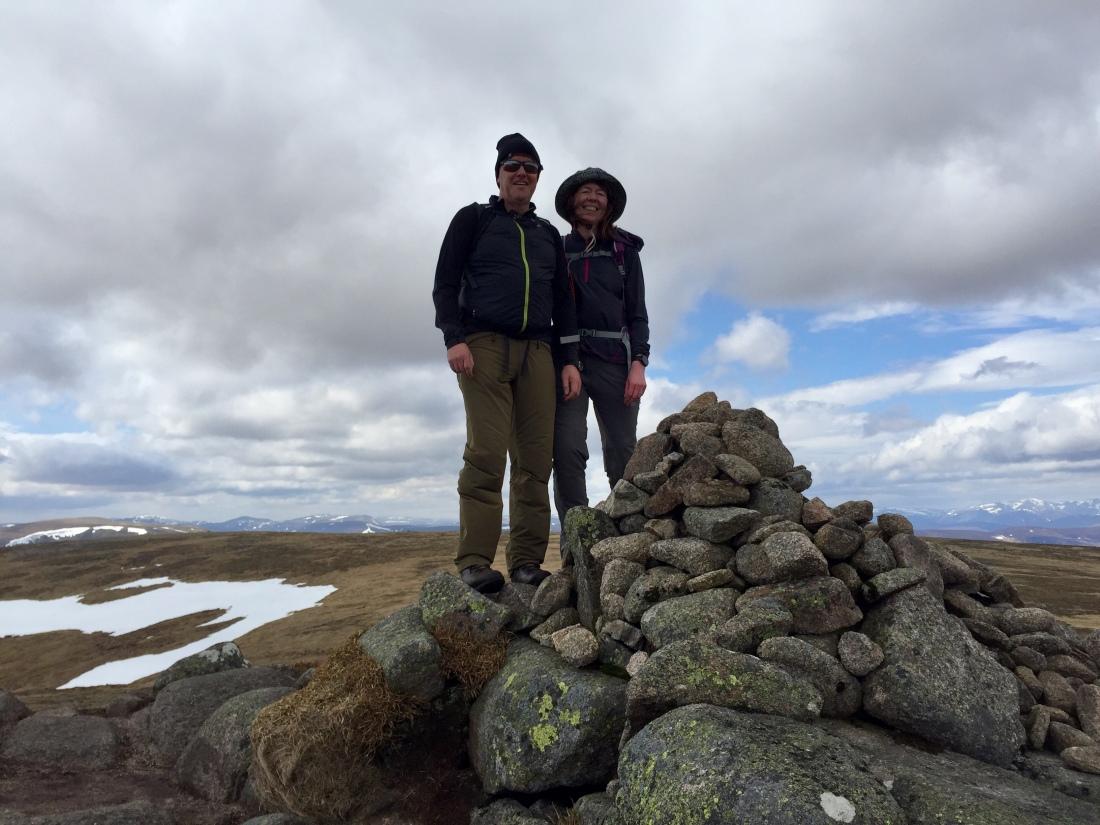 Summit Cairn, Cairn Bannoch