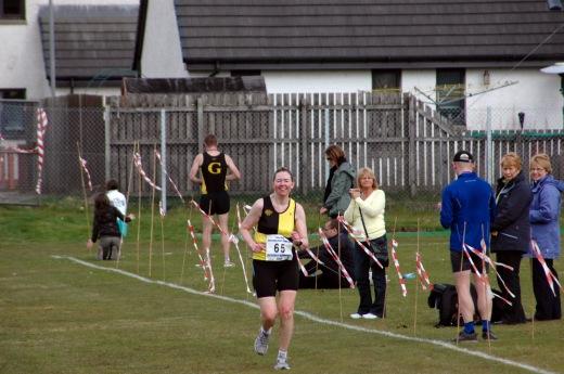 Finishing Lochaber Marathon (2010)