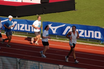 Amsterdam Marathon - Olympic Stadium Finish (2008)