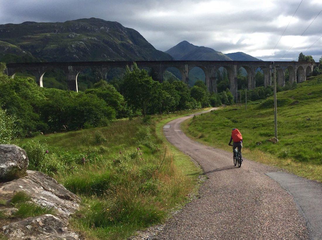 Glenfinnan Viaduct, returning from Sgurr nan Coireachan