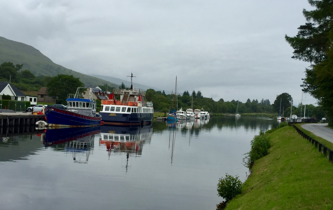 Caledonian Canal, Great Glen Way, Fort William