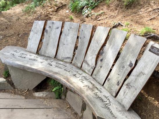 Bench at Lochan Uaine