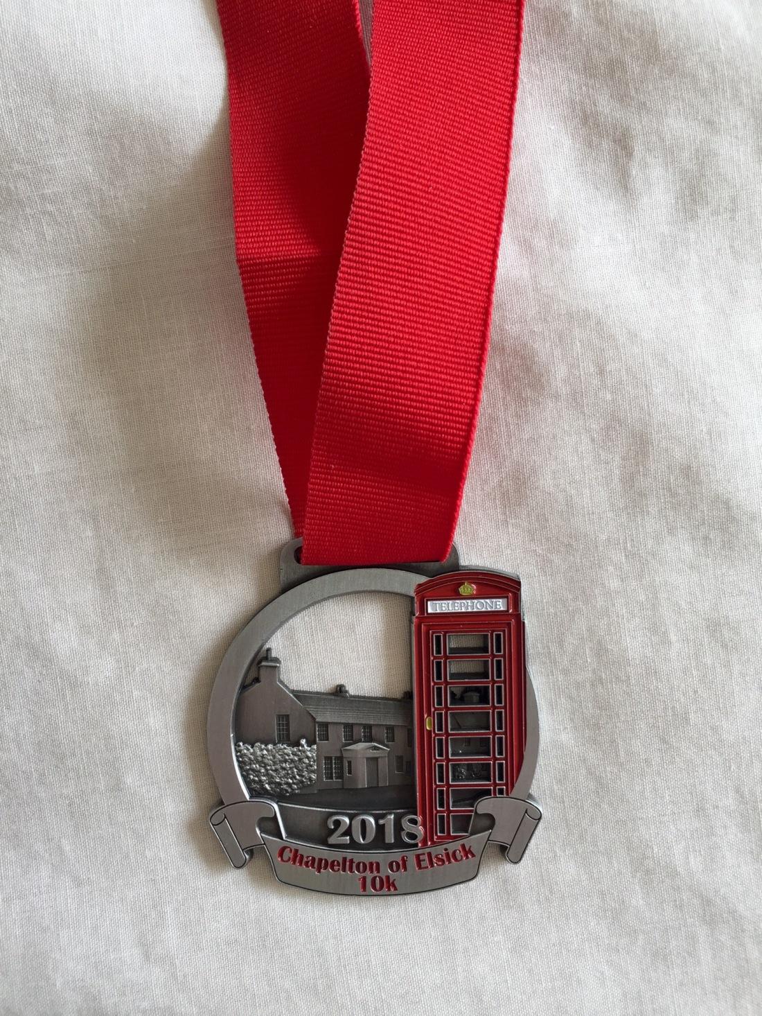 Chapelton of Elsick 10k Medal