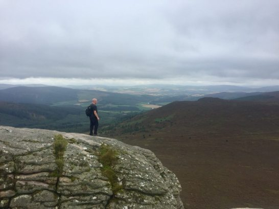View from Mither Tap, Bennachie