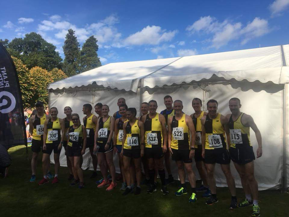 Metro Aberdeen Running Club do Crathes Half Marathon