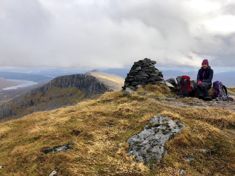Summit of Gleouraich