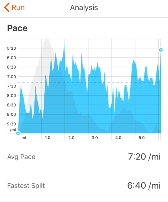 Somewhat erratic pacing at Lumphanan Detox 10k