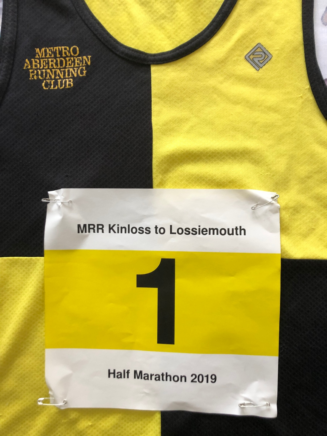 Number 1: Metro Aberdeen do Kinloss to Lossiemouth Half Marathon