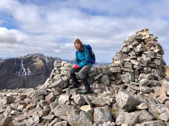 Summit cairn: Beinn Liath Mhor