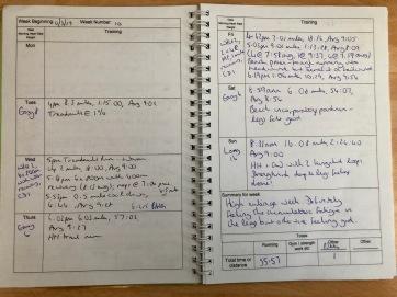 Diary Entry: Hanson Marathon Method
