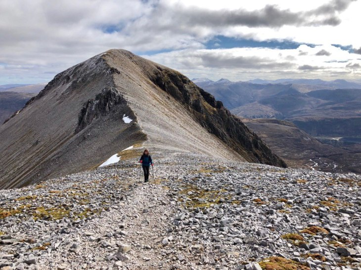 Splendid ridge walk to Beinn Liath Mhor
