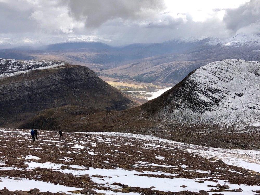 Descent from Slioch