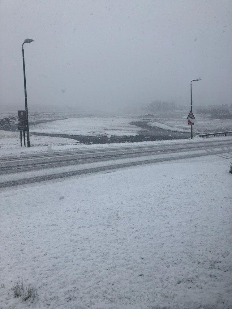Snow in Achnasheen