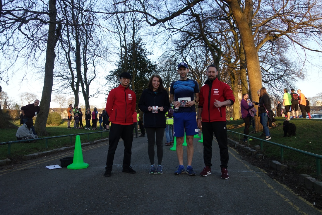 DW Fitness Aberdeen with Friends of Orchard Brae Fun Run Prizewinners