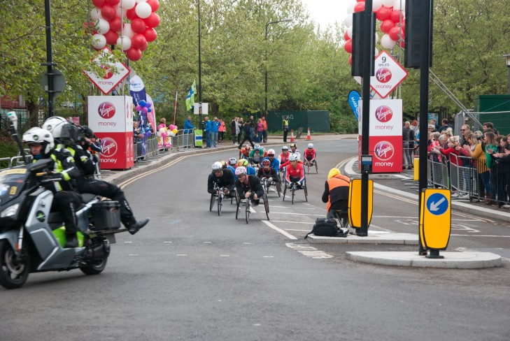 2019 Virgin Money London Marathon Wheelchair Race