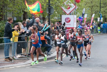 2019 Virgin Money London Marathon Elite Women
