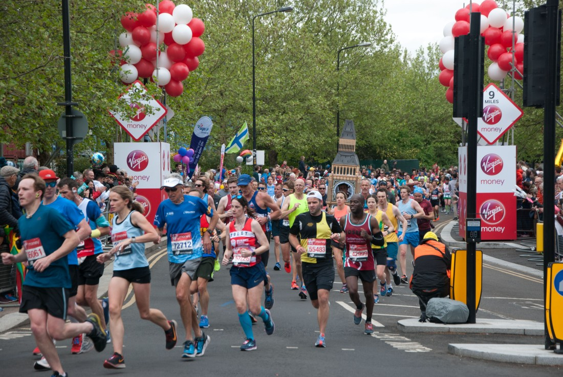 2019 Virgin Money London Marathon (Big Ben)