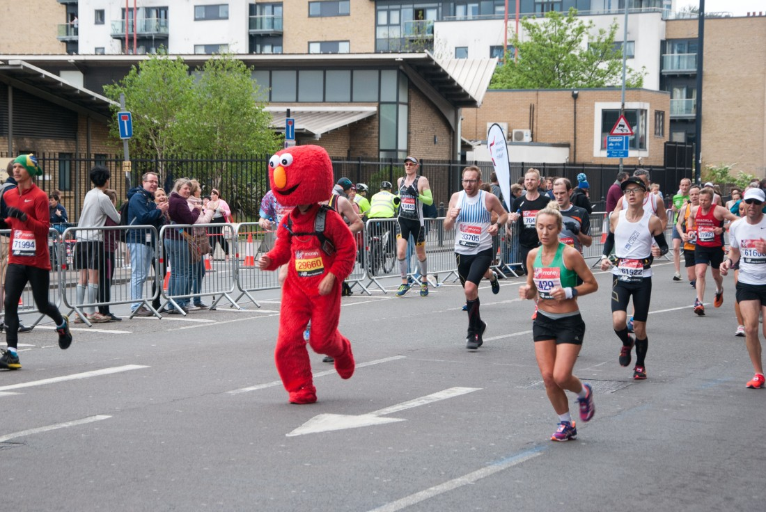 2019 Virgin Money London Marathon (Beaten by Elmo!)