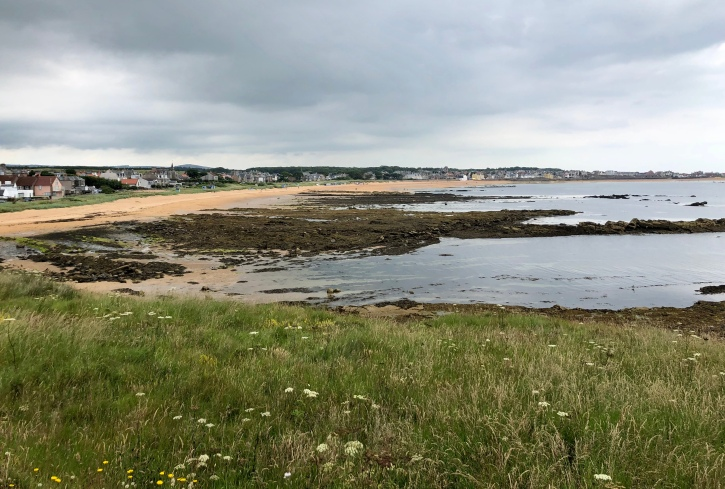 Heading towards Elie on the Fife Coastal Path