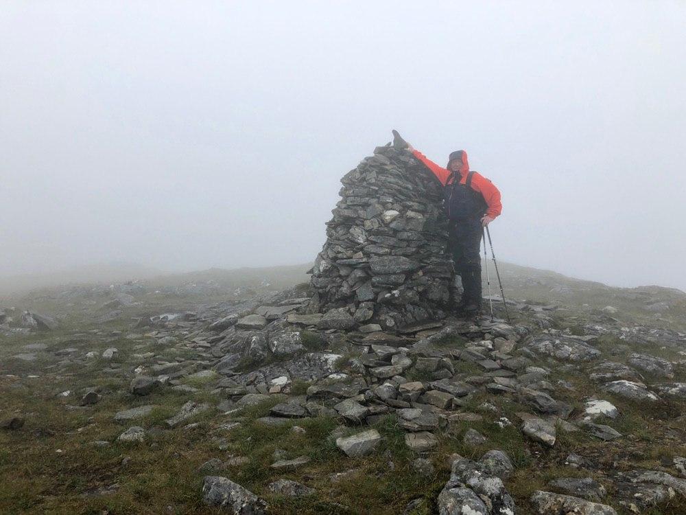 Summit of Carn Dearg, Corrour