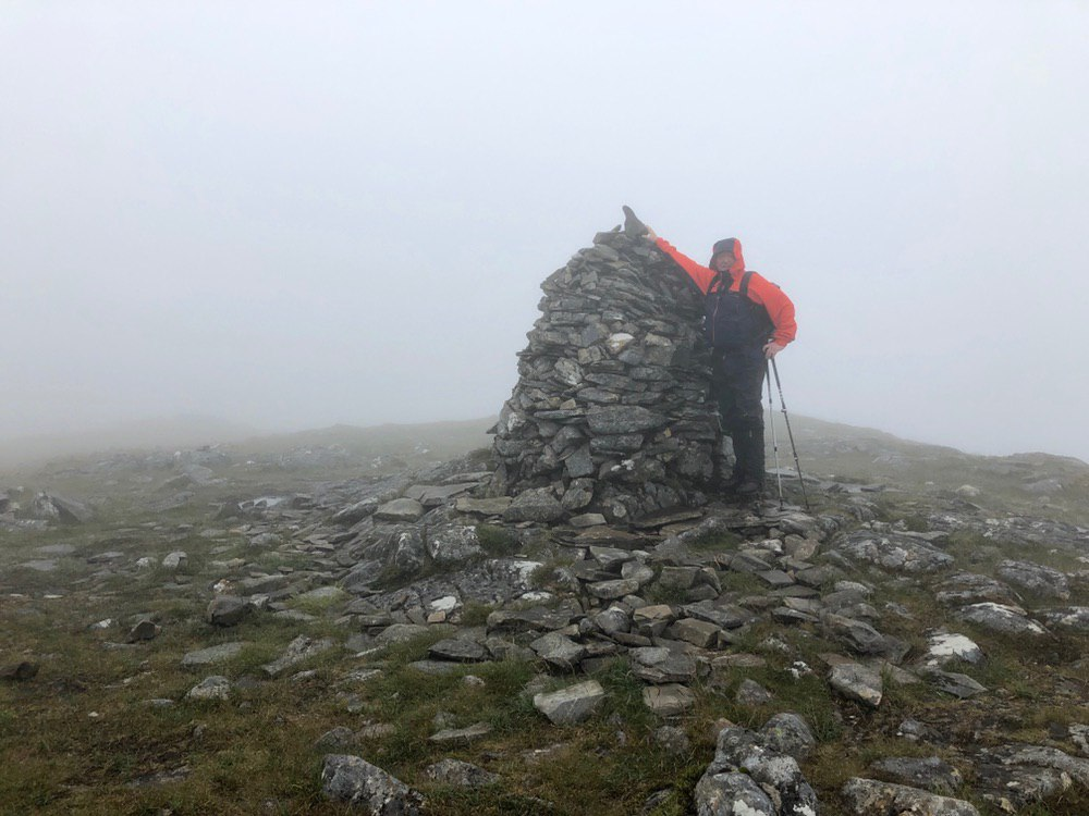 Summit of Carn Dearg, Corrour