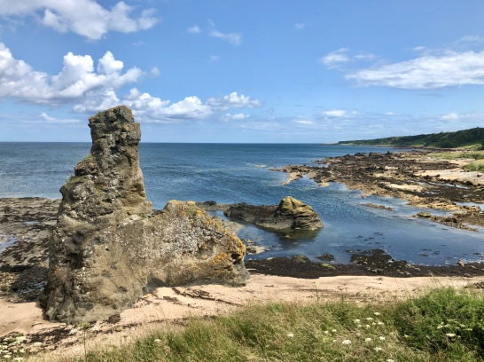 Rock and Spindle, St Andrews: Fife Coastal Path