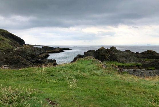 Interesting coastal scenery: Fife Coastal Path
