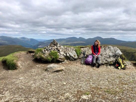 Stuchd an Lochain summit