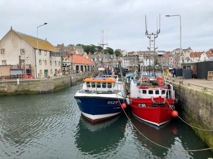 Pittenweem Harbour, Fife Coastal Path