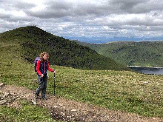 Route down Stuchd an Lochain