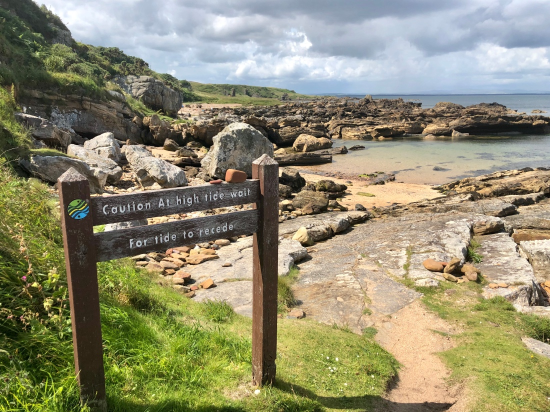 Beware: Tidal risk on Fife Coastal Path