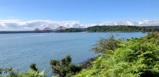 Forth Rail Bridge from the Fife Coastal Path