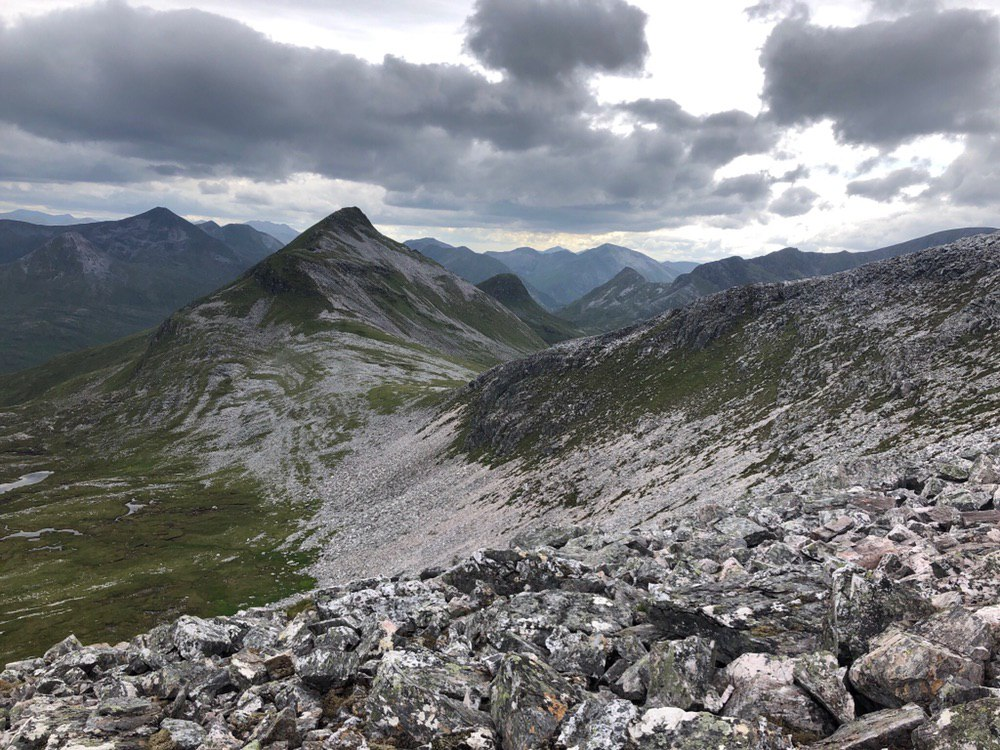 Grey Corries ridge
