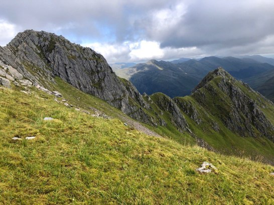 The Saddle and Forcan Ridge