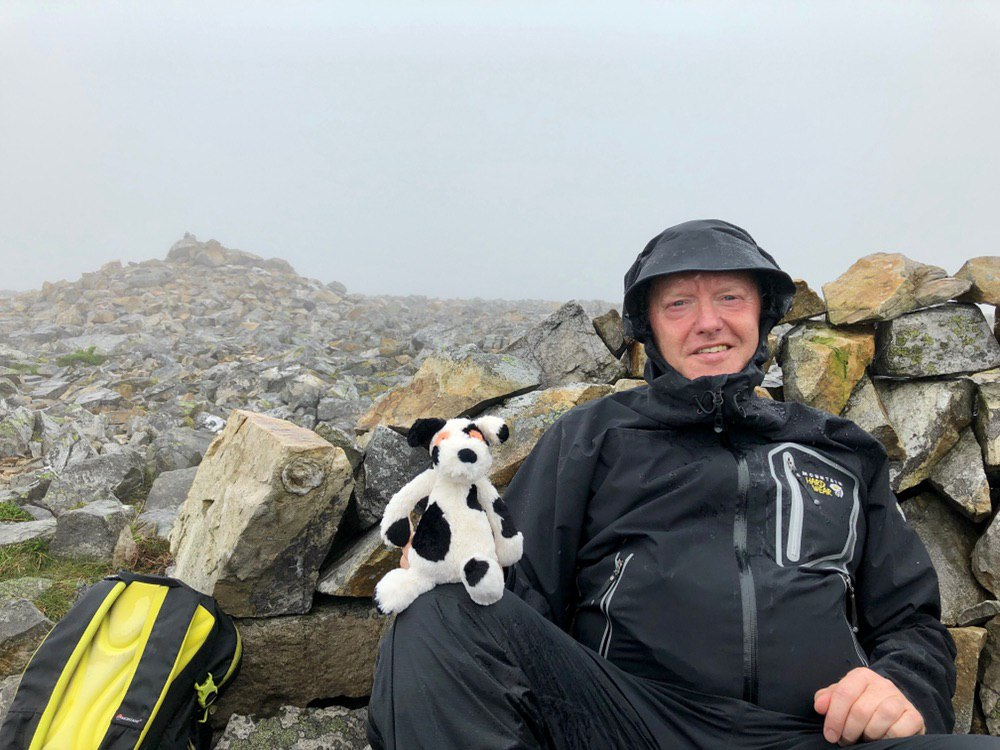 Bruce & Charlie on Carn an Tuirc #50in150