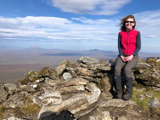 Ben Kilbreck summit cairn