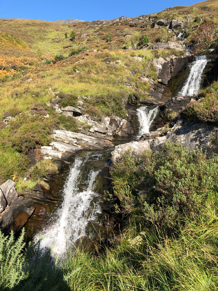 Waterfall on Ben Hope
