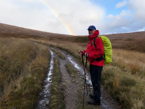 Rainbow on West Highland Way