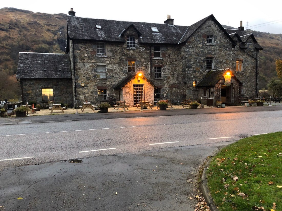 The Drovers Inn, Inverarnan