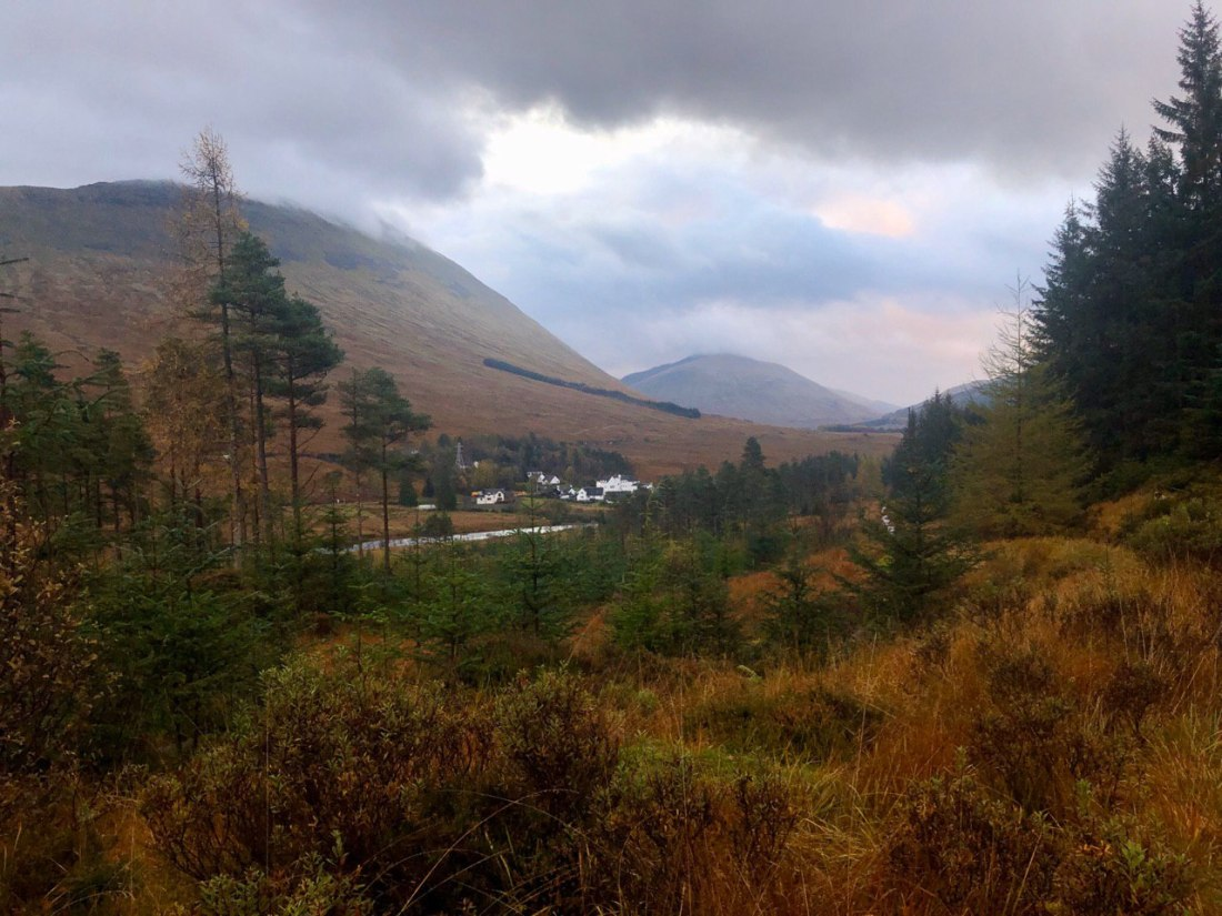 Bridge of Orchy from the West Highland Way
