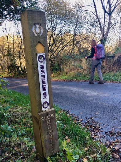 West Highland Way, Milngavie to Drymen
