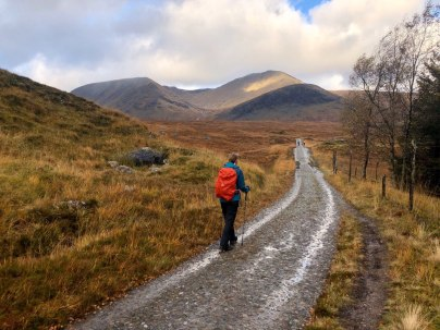 West Highland Way, Bridge of Orchy to Kingshouse
