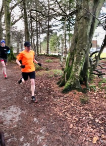 Moving too quickly for the camera at Hazlehead parkrun