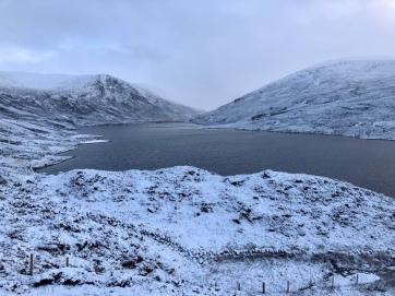 Snowy Loch Callater